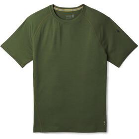 Smartwool Merino 150 Baselayer Pattern Short Sleeve Men Chive